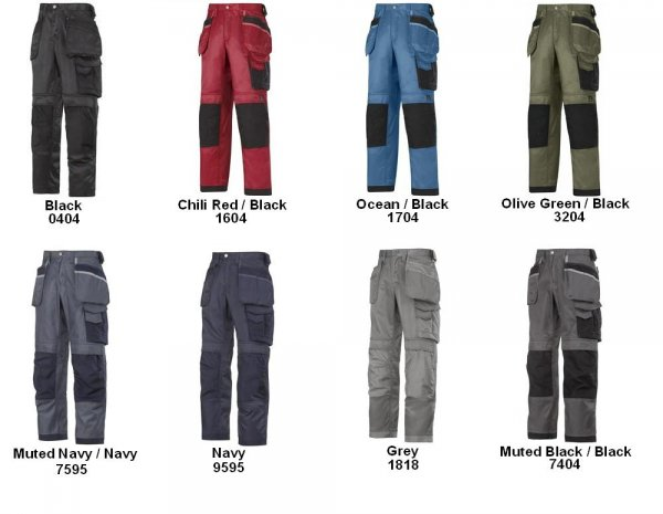 3312 - Craftsmen Trousers Duratwill - no holsters