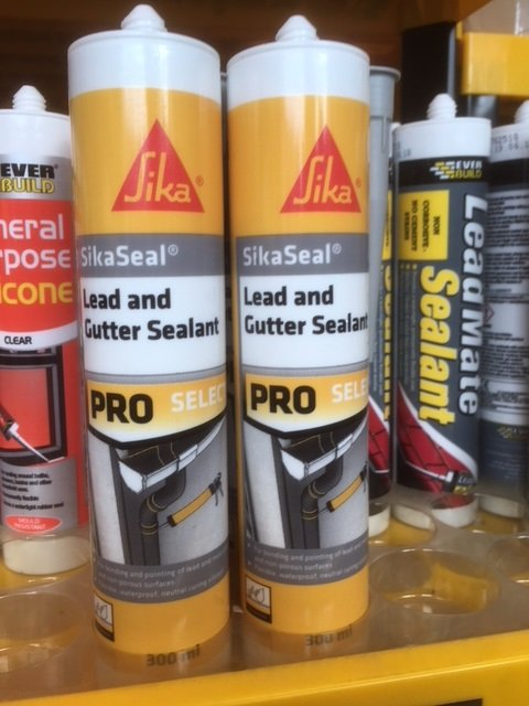 Everbuild And Sika Lead And Gutter Sealant From 163 2 20