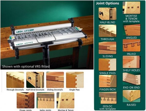Leigh d4r pro dovetail jig intertools online for Leigh isoloc hybrid dovetail templates