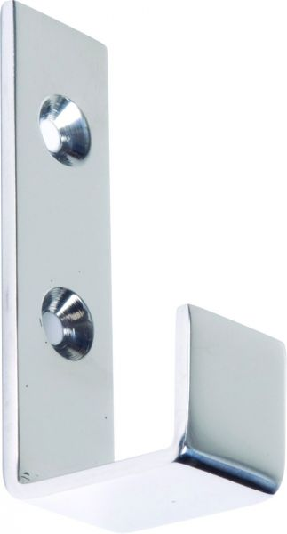 Wardrobe Hook Satin Stainless Steel