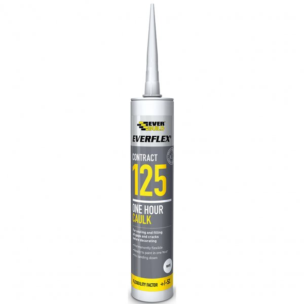 Decorator Caulk 125 one hour